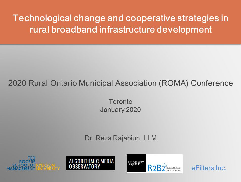 Technological Change and Cooperative Strategies in Rural Broadband Infrastructure Development